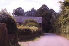 Lane to the Barn